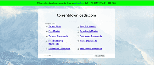 TorrentDownloads is one of the best Torrent Sites to download TV Shows/Series.