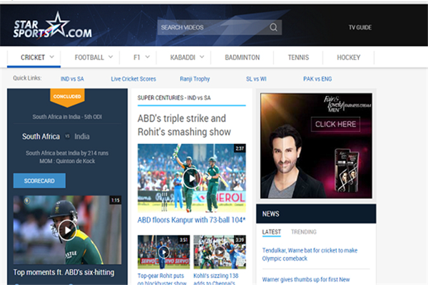 Eros Now is one of the popular Websites to Watch Indian Live Television.