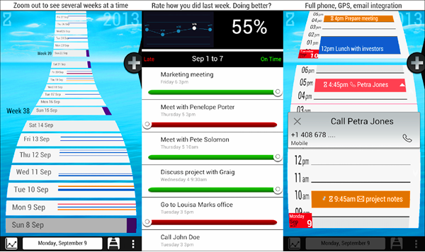 ZenDay is one of the best Calendar Apps for Android.