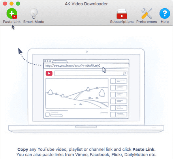 4K Video Downloader is one of the flexible tool to convert YouTube videos.