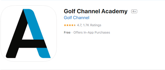 Golf Channel Academy is one of the best golf GPS, Rangefinder, Scorecard Apps for iOS & watchOS.