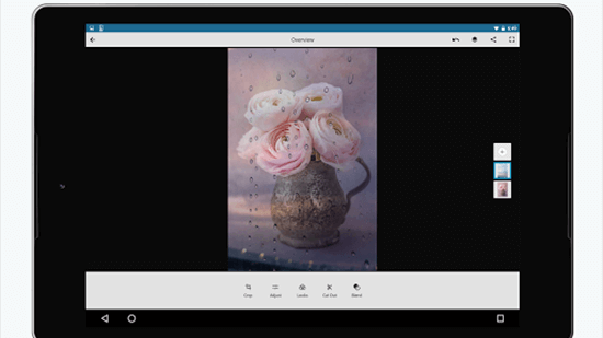 Adobe Photoshop Mix is one of the best free Apps for iPad Pro.