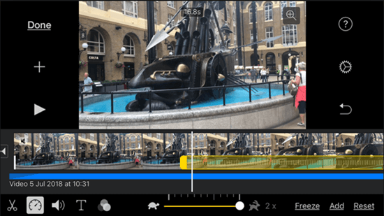 iMovie is one of the best free Apps for iPad Pro.