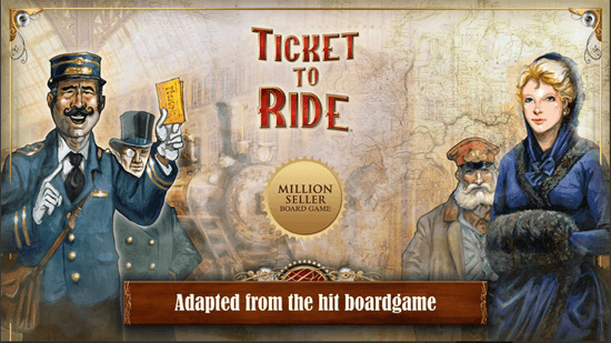 Ticket to Ride is one of the best free Apps for iPad Pro.