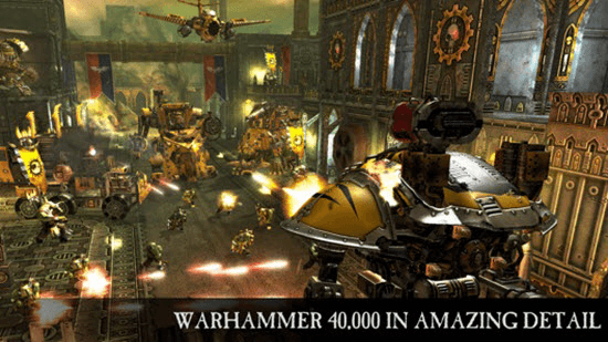 Warhammer 40,000: Freeblade is one of the best free Apps for iPad Pro.