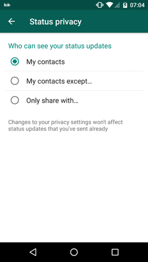 How do I know if someone viewed my profile on WhatsApp?