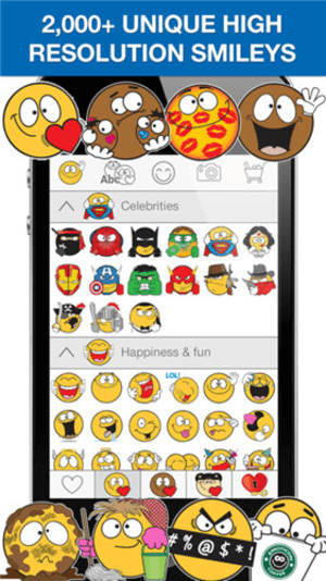 EmojiDom is one of the top WhatsApp emoticon apps for iPhone.
