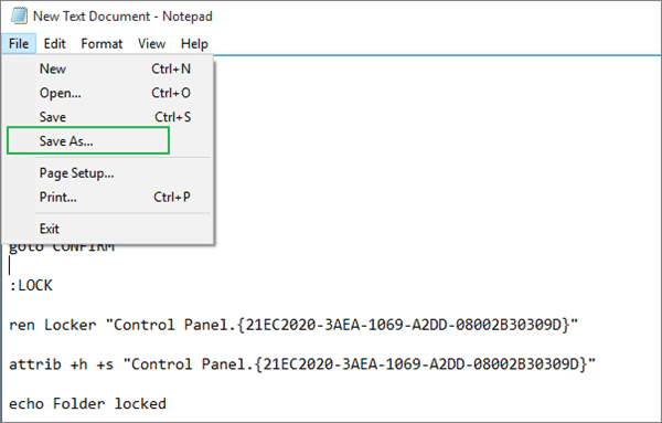 How to Put a Password on a Folder in Windows 10?