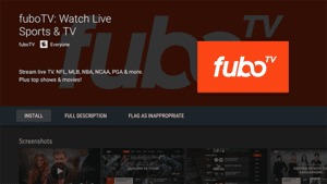 fuboTV is Football Streaming Apps.