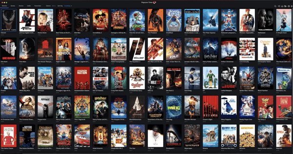Popcorn Time is one of the top alternatives to 123Movies.