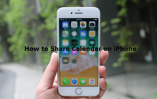 How to Share Calendar on iPhone.