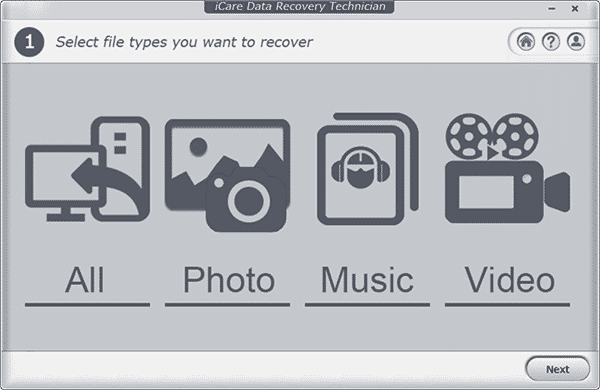 iCare Data Recovery is one of the best SD card recovery freeware.
