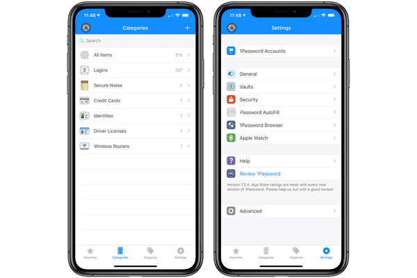 1Password is one of the must-have Apps for your iPhone.