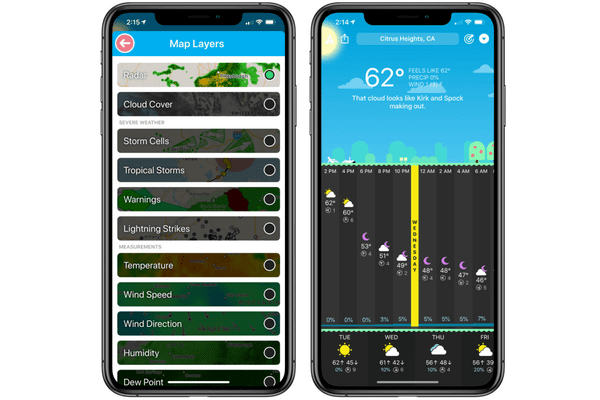 Carrot Weather is one of the must-have Apps for your iPhone.