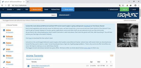 iOS Hunt is one of the best torrent websites in India.