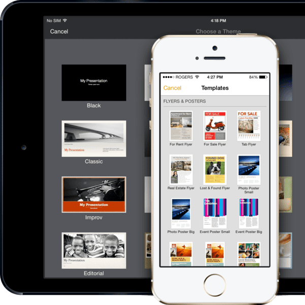 iwork is one of the best Must-Have Apps for your iPad.