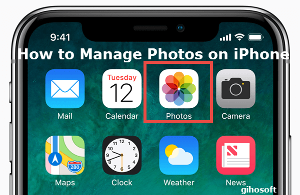 Manage Your Photos on iPhone.
