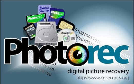 PhotoRec Data Recovery is one of the best SD card recovery freeware.