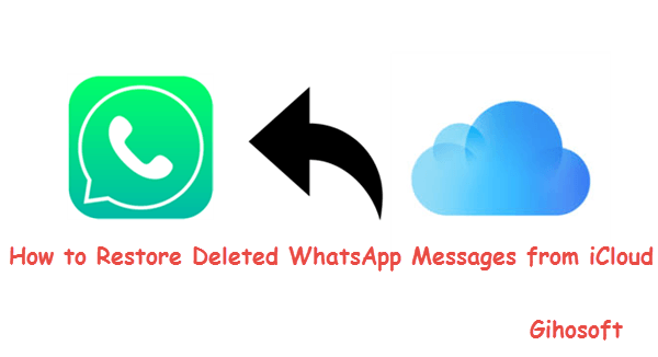 Restore WhatsApp Messages from iCloud.