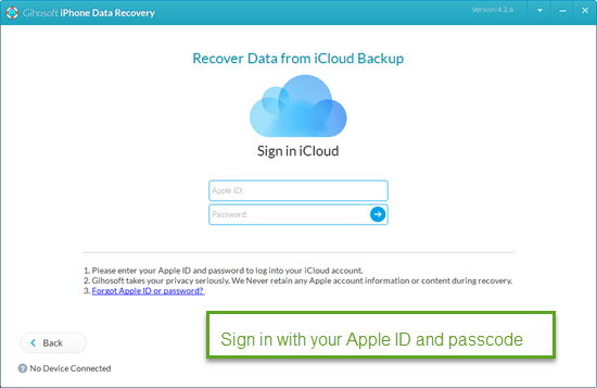 Recover Broken or Dead iPhone Data from iCloud Backup