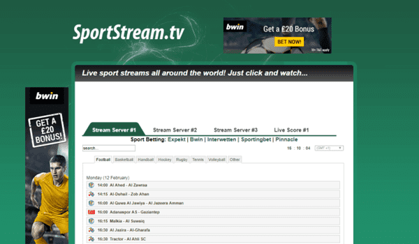 SportStream is one of the top WiziWig alternative free sports streaming sites.