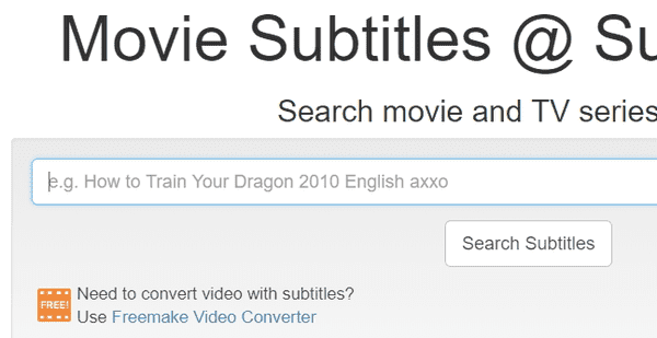 Using SubsMax to download Subtitles for Movies easily.