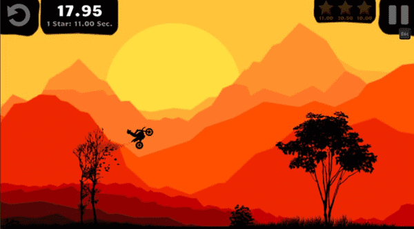 Nightfall Bike Racer is one of the best browser games.