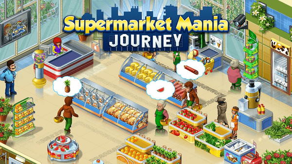 Supermarket Mania is one of the best free cool tames for teenage girls on Android.