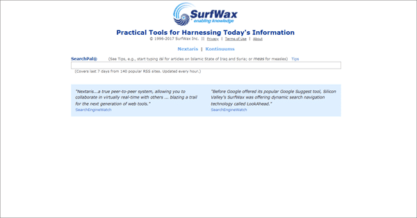 SurfWax is one of the top best deep web search engines.