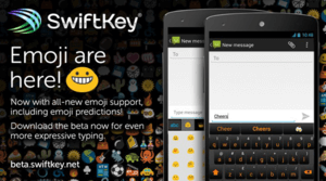 SwiftKey is one of the top WhatsApp emoticon apps for Android users.