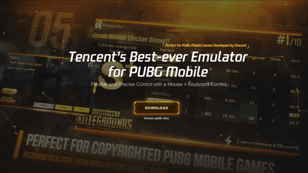 Tencent Gaming Buddy: Android Emulator to play PUBG Mobile