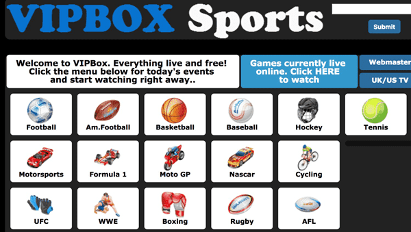 Vipbox is one of the best live cricket streaming sites to watch online cricket.