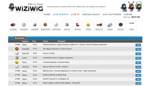 WiziWig New is one of the top WiziWig alternative free sports streaming sites.