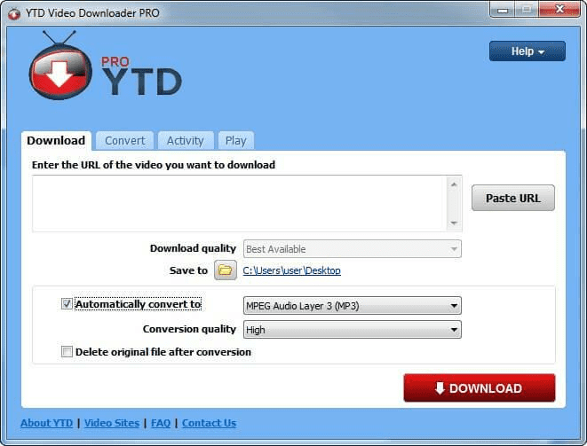 YTD Video Downloader Pro for Windows is one of the best 4K Video Downloader Alternatives.