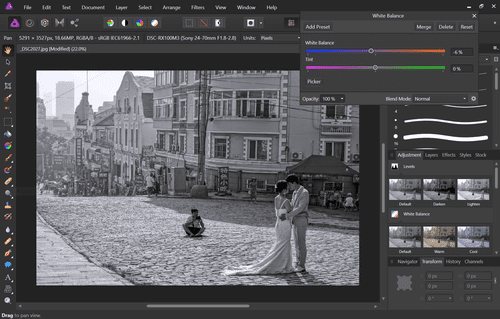 Affinity Photo is the best ever choice in the segment of photo editor tools or apps.