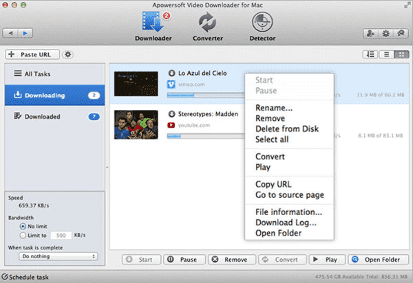 Apowersoft Video Downloader is a handiest video downloader of Mac which you can use in place of YTD downloader.