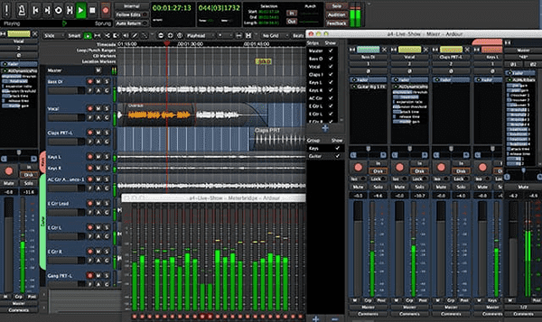 Ardor is one of the best audio editing software.