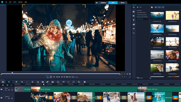 Corel VideoStudio is one of the top alternatives to iMovie for Windows.