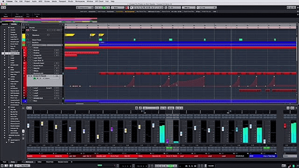Cubase is one of the best audio editing software.