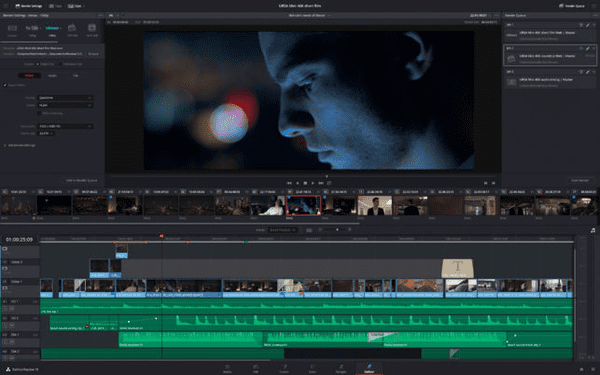DaVinci Resolve is one of the top alternatives to iMovie for Windows.