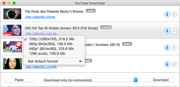 DVD Videosoft YouTube Downloader for Mac