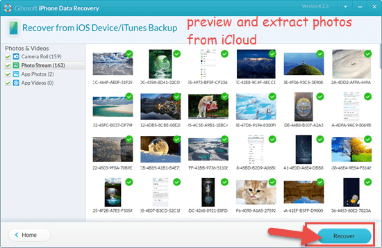 How to Get Photos from iCloud Backup to PC/Mac