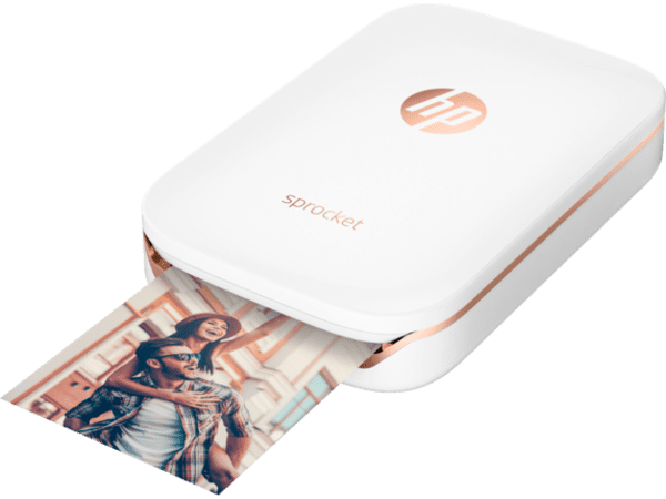 HP Sprocket Portable Photo Printer X7N07A is one of the top best iPhone Photo Printers.