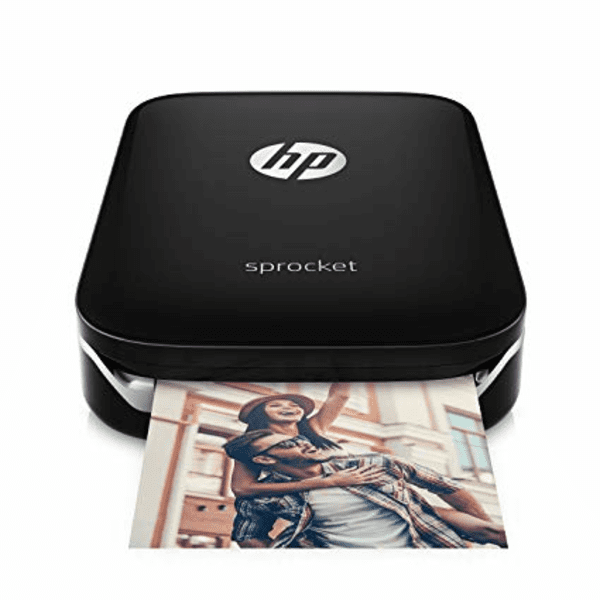 HP Sprocket Portable Photo Printer X7N08A is one of the top best iPhone Photo Printers.