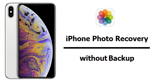 iPhone photo recovery without Backup.