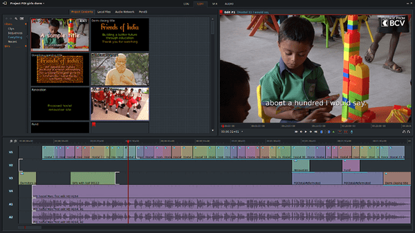 Lightworks is one of the top alternatives to iMovie for Windows.