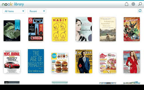NOOK by B&N is one of the top eBook reader apps for Android.