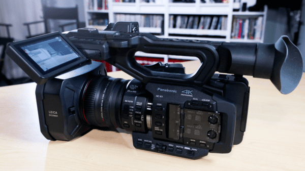 Panasonic HC-X1 4K UHD Camcorder is one of the top 4k video cameras/camcorders.