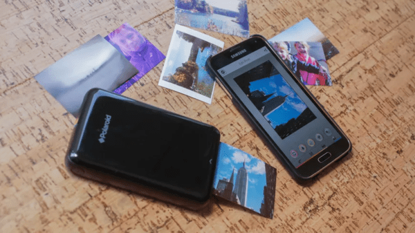 Polaroid ZIP Mobile Printer is one of the top best iPhone Photo Printers.