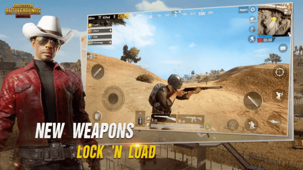 PUBG is one of the interactive game Apps for Android.